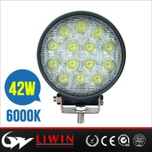 liwin Spot flood Waterproof ip67 led work light 42w motorcycle accessory