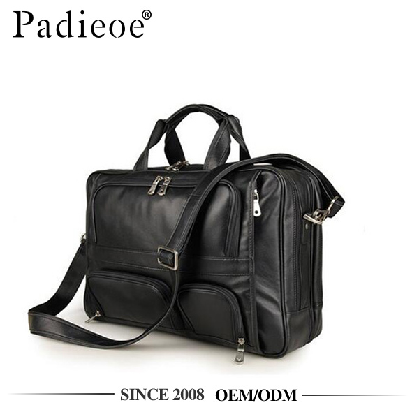 Latest design leather 2017 new handbag for business trip