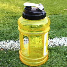 2.2L Big BPA Free Sport Gym Training 2.2l petg Joyshaker Water Bottle with storage for protein