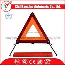 European Standard ECE R27 Traffic Safety Reflector Warning Triangle with Emark