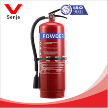 ISO9001/MSDS approval 6kg chemical dry powder fire extinguisher