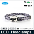 Powerful Led headlamp with special battery indicator, high lumen and waterproof resistent