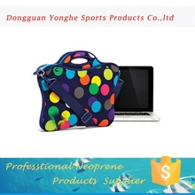 design custom 3mm 11.6inch polyester neoprene laptop sleeve