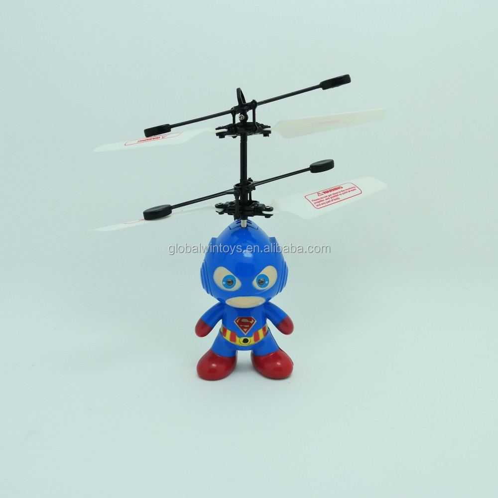 2.4G Induction Toys Easy To Be Operated RC Flying Spaceman Remote Control Toys