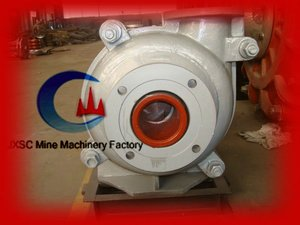 Mineral Beneficiation Recovery Transport Centrifugal Slurry Pump