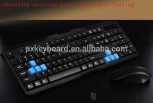 cheap blue tooth wireless computer gaming keyboard and mouse set Combo