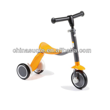 Professional made factory customized 2 in 1 kids scooter with 3 wheel
