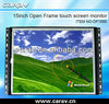 15 Inch Multi Touch Screen; Saw Touch Screen Open Frame;15 Inch IR Touch Screen Panel