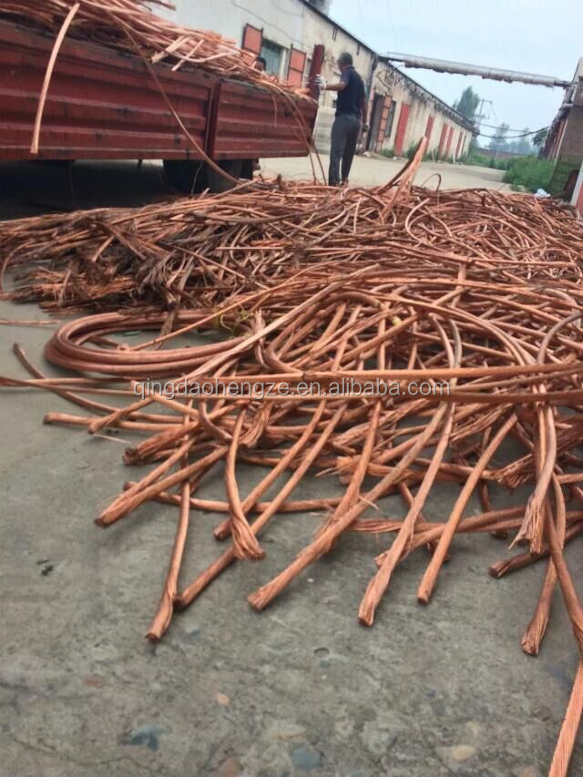 99.99% red copper scrap price scrap copper wire