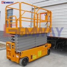 Self drive small one man lift elevator crane price