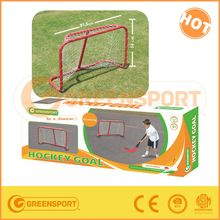 high quality of steel ice hockey goal for children training or kids gifts
