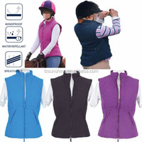Quilted Diamond Pattern Equestrian Ladies Horse Riding Vest