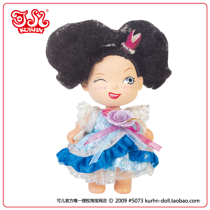 3.5 inch plastic mini baby fairy doll toy for child size / child love dolls