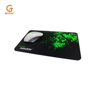 High quality small size custom printed rubber gaming pad