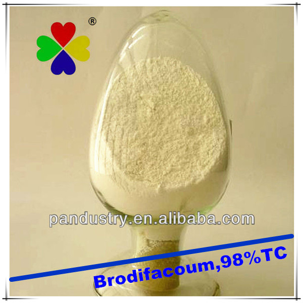 Rodenticide brodifacoum powder rodenticide 98%TC