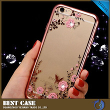 mobile phone back cover case for vivo y31, Electroplate Secret Garden TPU Funky Mobile Phone Case