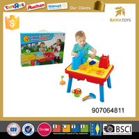 Free shipping Hot sale kids toy sand beach table toy set