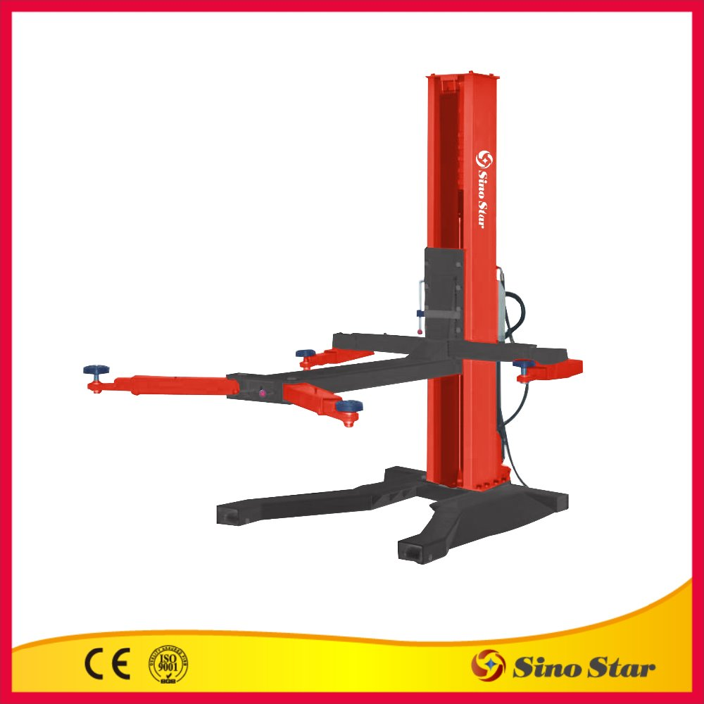 Mechanical 1 post car lift/mini tilting car liftcar lift for container(SS-6125M)