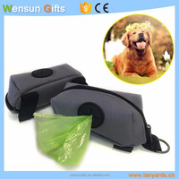 dog poop bag outdoor pet bag with disposable bag custom OEM