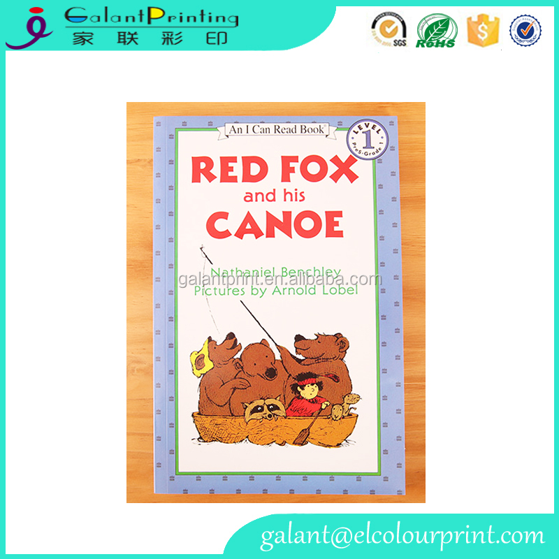 Customized Logo Wholesale Full Color Story Children Books Printing Service