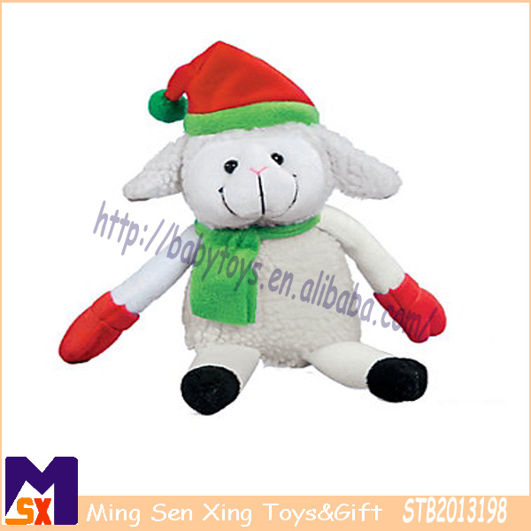 lamb plush toy for christmas 2014 plush sheep toys new christmas plush toys