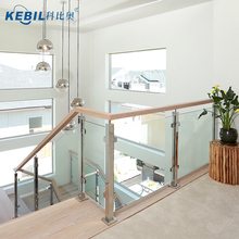 Stainless Steel Glass Staircase Design,Balcony Stainless Steel Design,Glass Balustrade