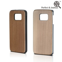 Professional universal Stylish real wood pc mobile phone case for samsung s6