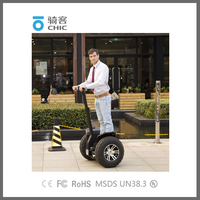 CHIC 2 Wheels Self Balancing Electric Standing up Scooter Motorcycle Ebike