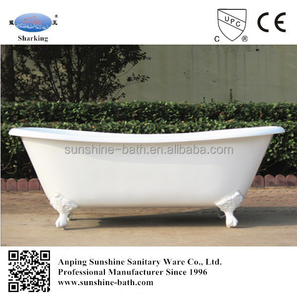 Freestand Bath European Style Luxury Bathtub On Feet