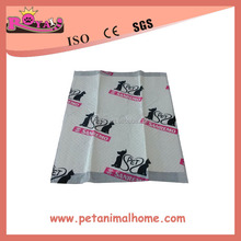 Super absorbent disposable printed pet pad Lovely Pet Dog