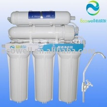 Easily using and maintaining! Water purifier and mineralizer domestic UF water filter with 6 stage filter system
