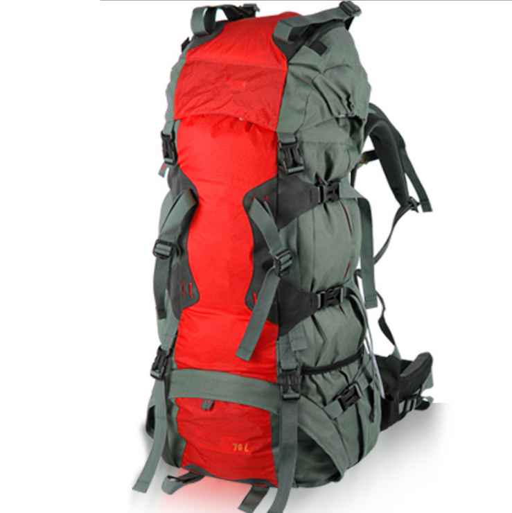 2015 popular Outdoor Camping durable hiking backpack 75L