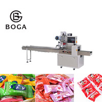 automatic candy pillow packing machine small business manufacturing machines