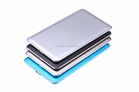 Kongst new products portable 4000mah slim power bank external battery