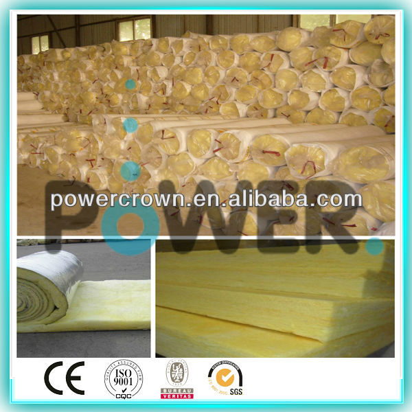 Black color glass wool insulation /fireproof insulation fiberglass tissue