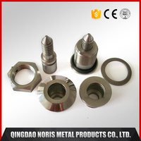 CNC milling machine parts lock cylinder accessories with stainless steel