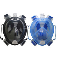 Full Face Snorkeling Scuba Diving Mask With ear plug For Gopro Hero 4 3+ 3 2 1 xiaomi Yi 4k Action Camera