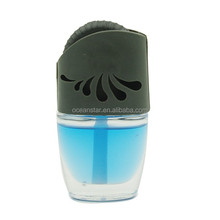 Hot sale liquid car air vent air freshener with glass bottle