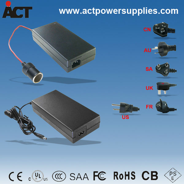 CE, SAA approved power supply 24V 5A DC adapter