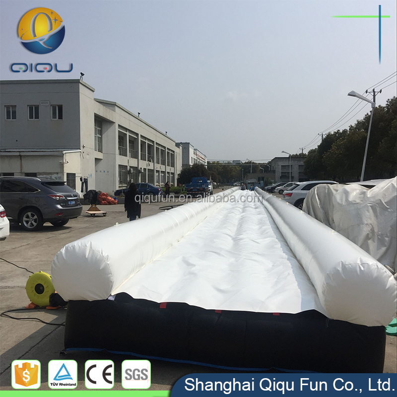 High quality commercial long slip and slide inflatable slide city for adults and kids