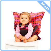 Baby Chair Portable Infant Seat Dining Baby Seat Safety Belt - Pinky Buttons