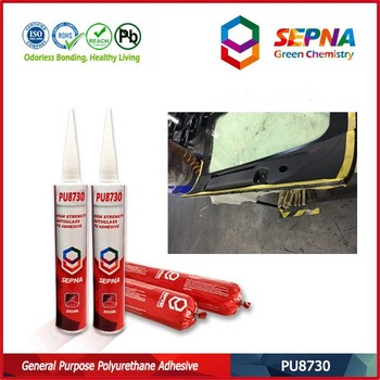 car autoglass repair automobile windscreen polyurethane sealant PU8730 used for auto repair market