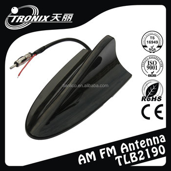 the shark fin car antenna, am fm shark fin auto antenna, nut screw shark fin car antenna