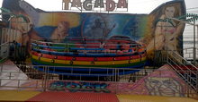 Exciting!!!Thaliand kids&adults amusement equipment rides disco tagada