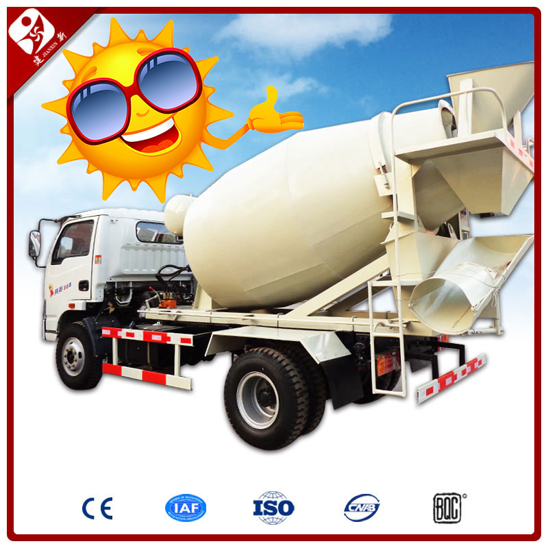 Jianxin brand HJC6A 6m3 concrete mixer truck price in india