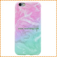 New ultra thin marble pattern tpu phone case IMD craft full color printing cover for iphone 6 case