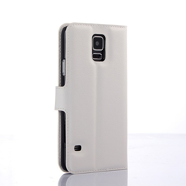 S5004 Factory In Stock Mobile Phone PU Leather Flip Case for Samsung Galaxy S5 i9600