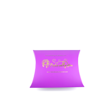 pillow box hair extensions packaging supplier tie pillow box packaging solution