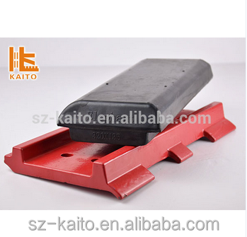 Elephant rubber track pad for wirtgen milling machine1900 2000& paver 300*130mm etc.