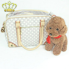 Hot Selling Waterproof Outdoor Pu Leather Pet Carrier Bag Carrying Bag